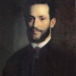 Михай Ковач. Портрет Арминия Вамбери, 1861г.