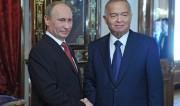 Путин и Каримов2