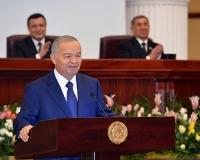 Ислам Каримов, вступление на должность