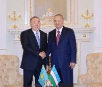 Каримов и Назарбаев 15.04.16г. 2а