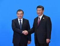 Шавкат Мирзиёев и Си  Цзиньпин