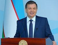 Праздничное поздравление по случаю 26-летия образования Вооруженных Сил Республики Узбекистан и Дня защитников Родины