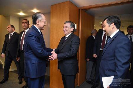 Встреча с руководством Всемирного банка 1