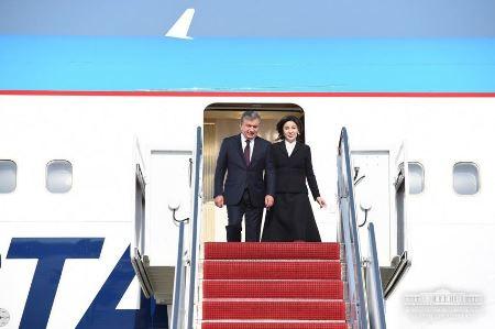 Президент РУз прибыл в США